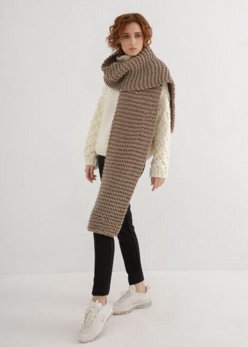 Chunky Scarf Knitting Pattern
