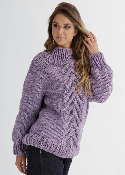 Top Down Sweater Knit Pattern
