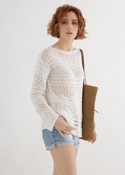 lace sweater knit pattern