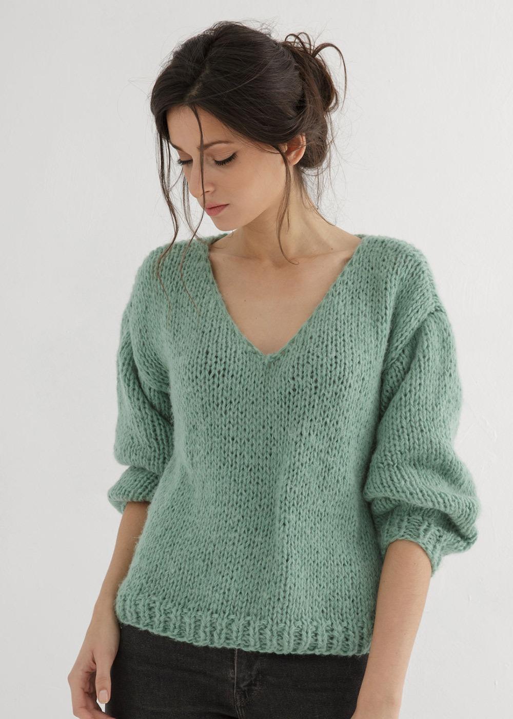 Pullover PDF Knit Top VI